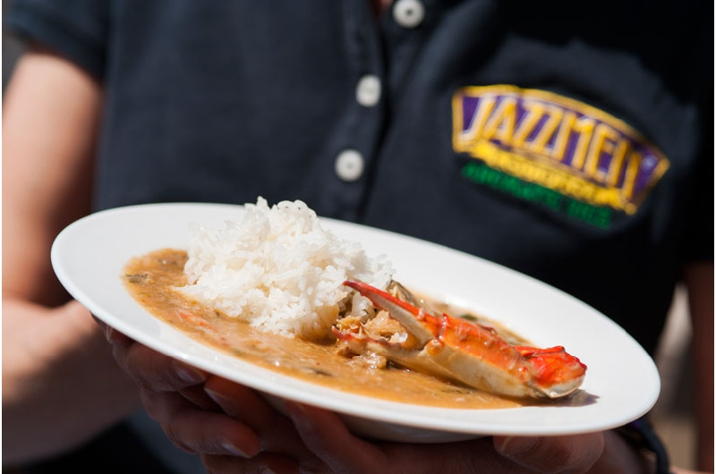Seafood Gumbo with Jazzmen by Deanie's Restaurant, Executive Chef Darren Chifici