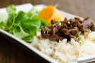 Chargrilled Pork with Jazzmen Rice - Magasin Restaurant