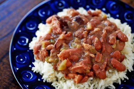 Louis Armstrong's  Creole Red Beans